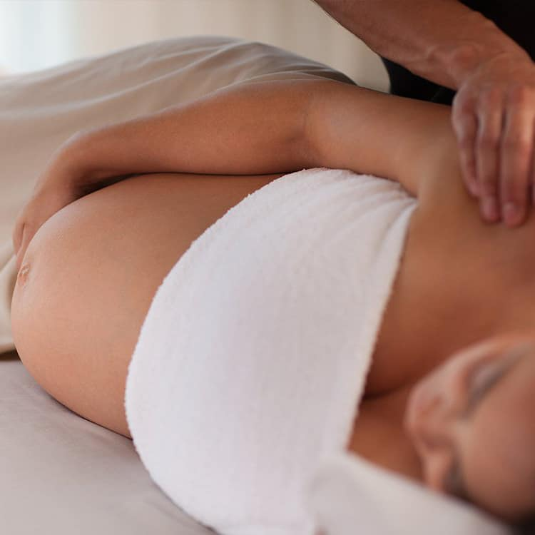 pregnancy massage london